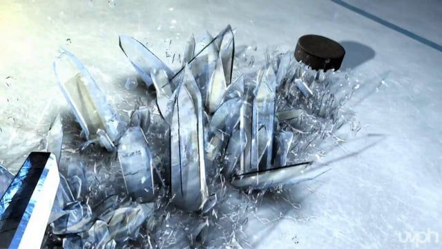 This is the open we designed and animated for the 2011 NHL Winter Classic.    UVPH  Damijan Saccio: Production    Ali Jamali: Modeling / Shading / Lighting / ICE crystals / Rendering
