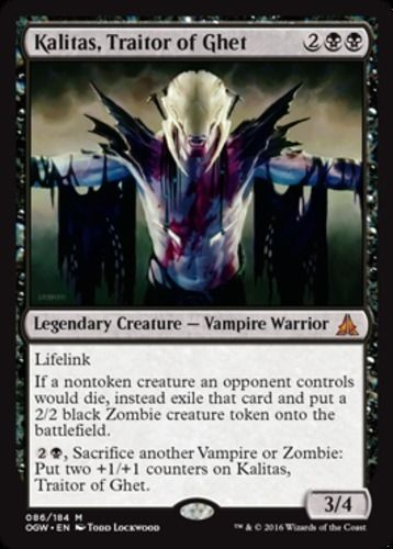 Kalitas-Traitor-of-Ghet-x1-Magic-the-Gathering-1x-Oath-of-the-Gatewatch-mtg-car