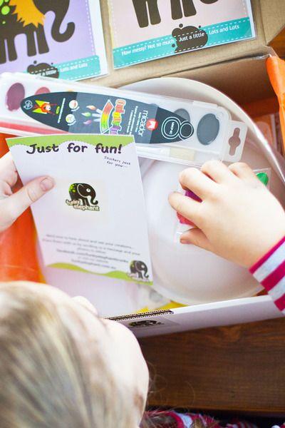 Funky Elephant, kids craft, arts & crafts