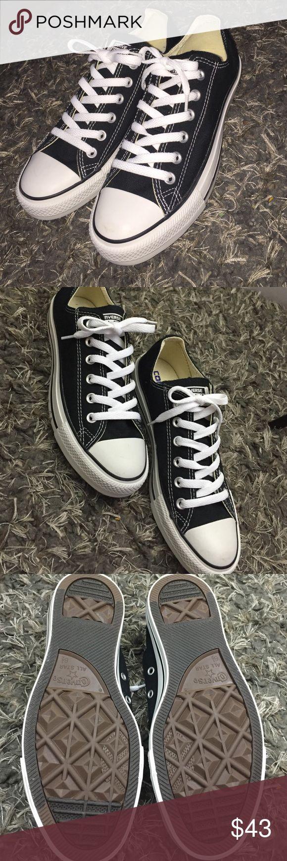 6.5 Black Chuck Taylor Converse (Never Worn) 6.5 Black Converse (Never Worn) Converse Shoes Sneakers