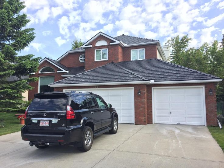 EuroSlate in Black  #Slate #Black #roof #authenticlook #rubber #roofingmaterial #lifetimewarranty #contractor #shingles #renos #home #design #durable #affordable #premiumroofing