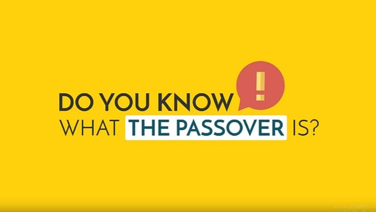 What is the passover? [World Mission Society Church Of God]