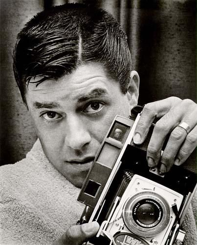 """Hey LADY!!""    Today's über-cool, über-talented celebrity with an über-cool Polaroid camera: JERRY LEWIS"