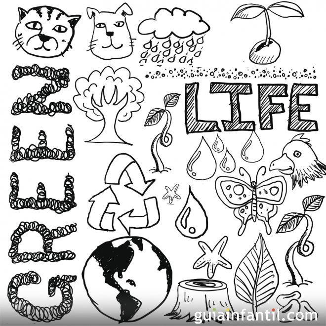 Resultado De Imagen Para Dibujos De La Naturaleza Sketch Book Comics Life