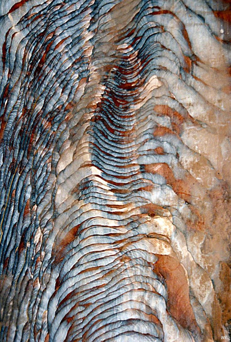 Colorful sandstone. Petra. Jordan. abstract textile inspiration