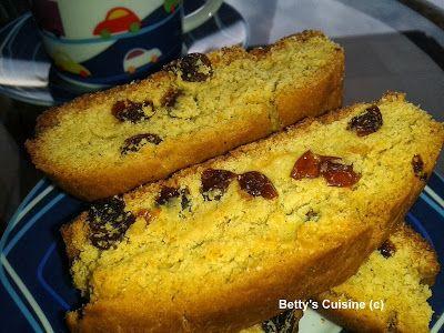 Betty's Cuisine: Κρητικά  νηστίσιμα παξιμαδάκια με σταφίδες