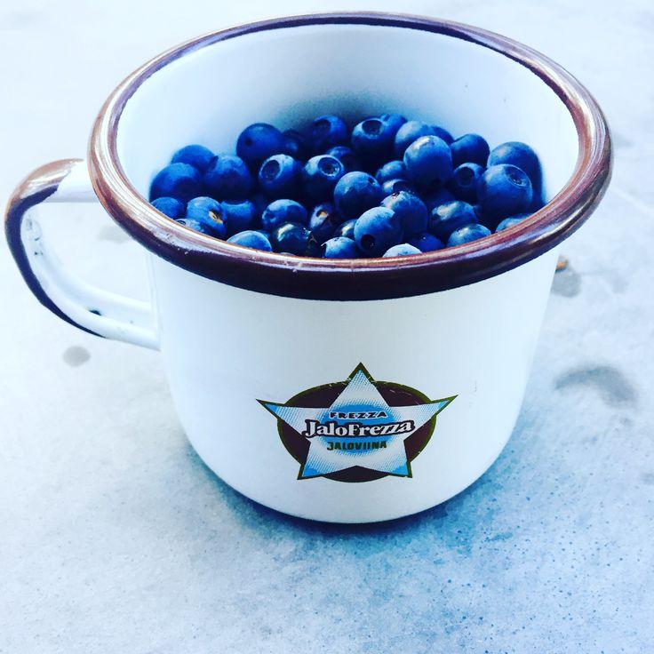 Finnish blueberries.