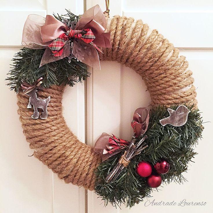 Украсить дом на Новый год и Рождество? Легко! Создаём рождественский венок своими руками - Ярмарка Мастеров - ручная работа, handmade