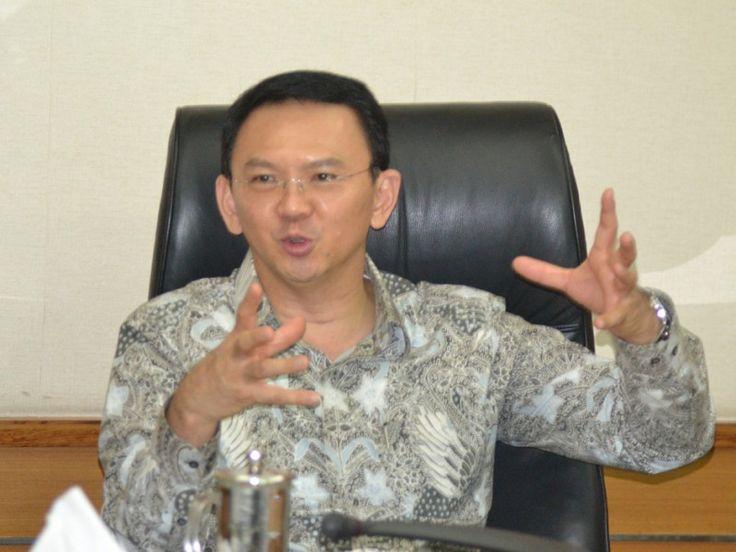 Gubernur DKI Jakarta, Basuki Tjahaja Purnama menyampaikan ucapan selamat datang