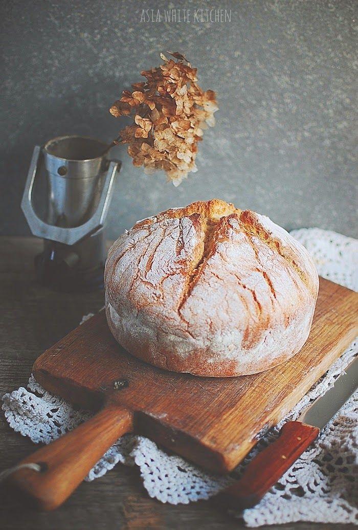 Asia's White Kitchen: Prosty chleb na drożdżach