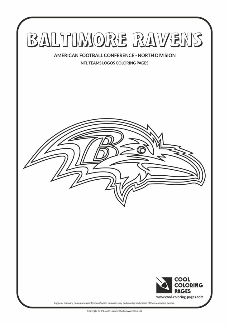 cool coloring pages nfl american football clubs logos american football - Nfl Football Logos Coloring Pages