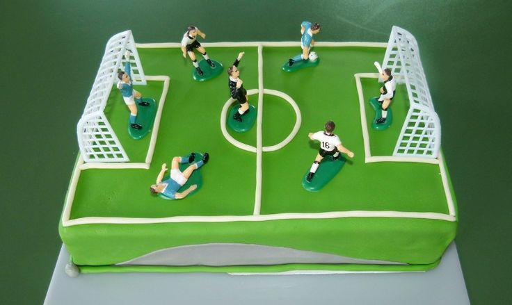 Fussball-Torte - Football cake