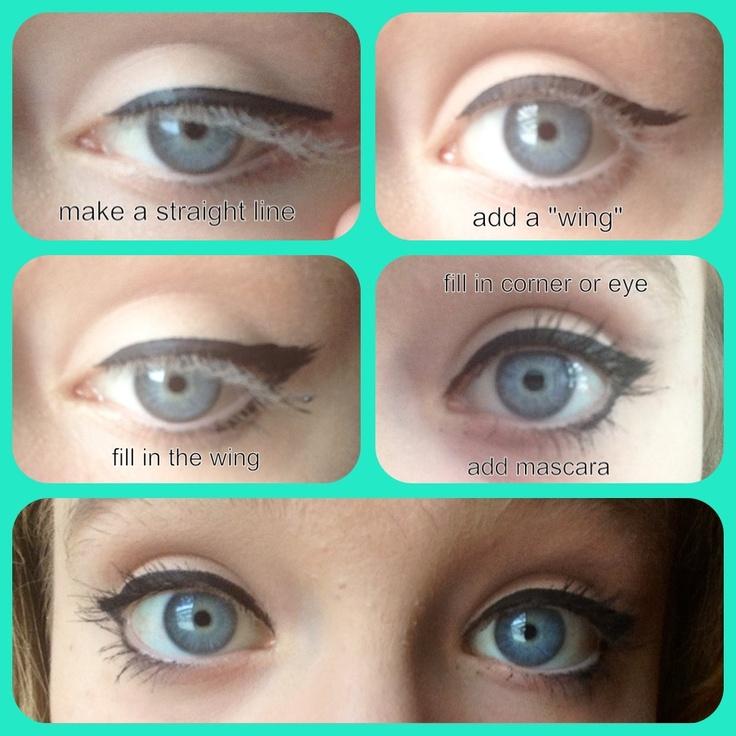 Eye makeup ideas liquid eyeliner