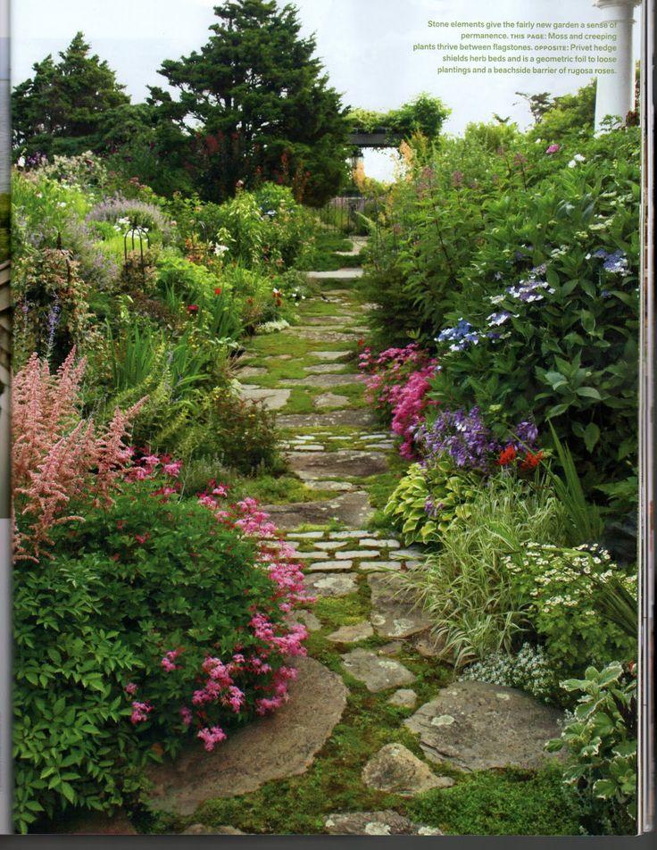 The Starving Singer: Garden Paths. Brick PathStone ...