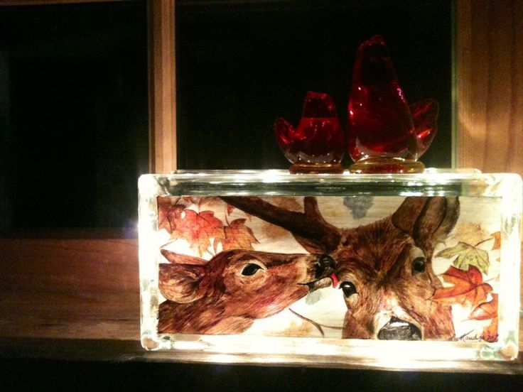 Hand Painted Lighthouses Onto Glass Wine Bottles