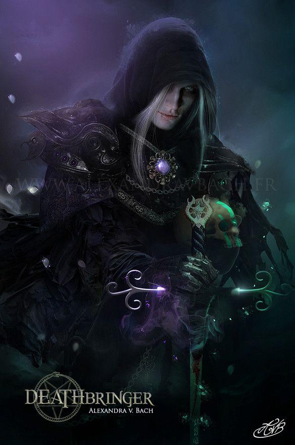 Deathbringer, Alexandra V Bach on ArtStation at https://www.artstation.com/artwork/ZJba0