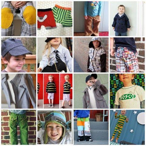 20 Boy clothes tutorials