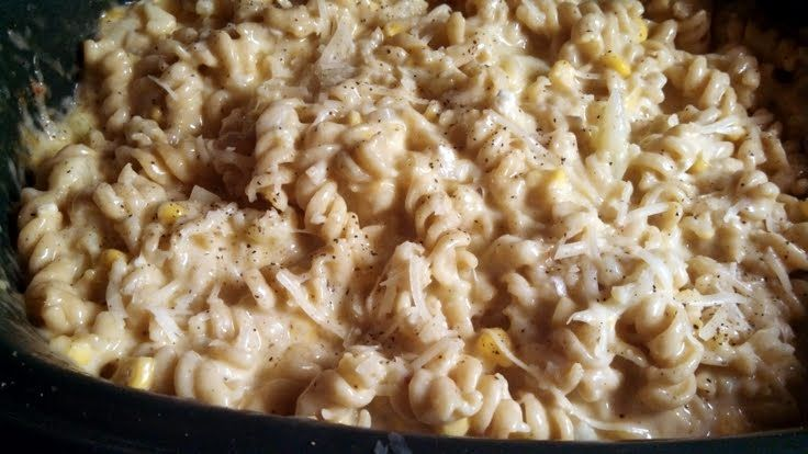 "... twist! delicious"" @allthecooks #recipe #easy #crockpot #cheese #mac #"