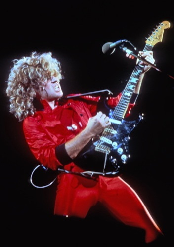 Sammy Hagar, The Red Rocker. Saw him steal the show at several Texxas Jams then again with Van Halen and also with Waboritas