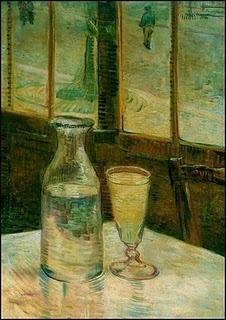 'Still Life with Absinthe' Vincent Van Gogh