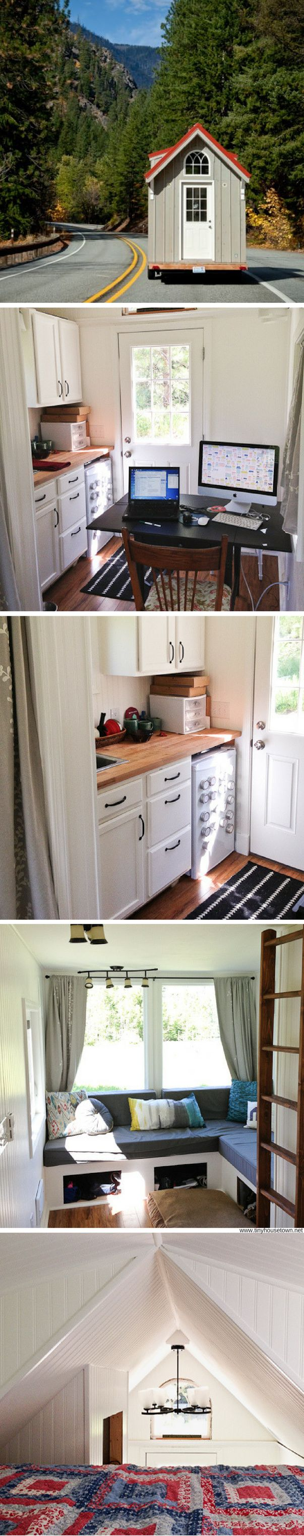 The Almost Glamping tiny house