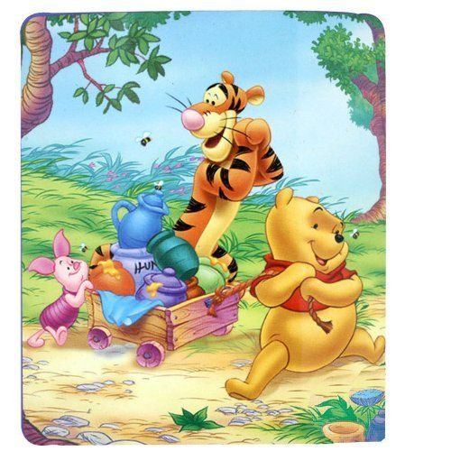 Disney Winnie The Pooh Fleece Blanket Throw 45 Quot X 60 Quot By