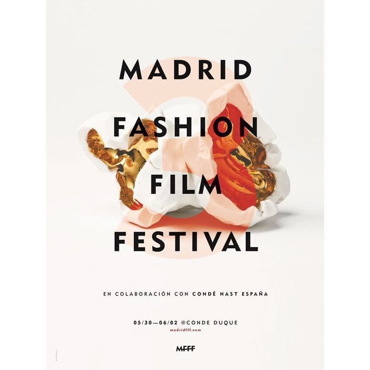unveiled.  Get ready for more !! MadridFFF III Edition is almost here #madfashionfilmfest by madridfff