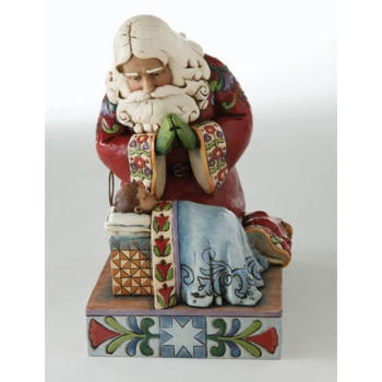 17 Best Images About Jim Shore Santa On Pinterest Around