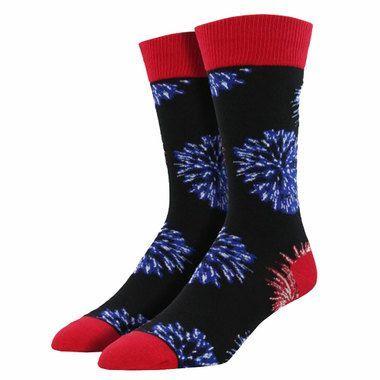 Men's Fireworks Socks