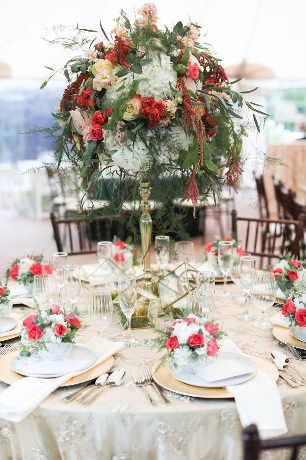 tablescape design with shades of gold floral centerpiece with rh pinterest com
