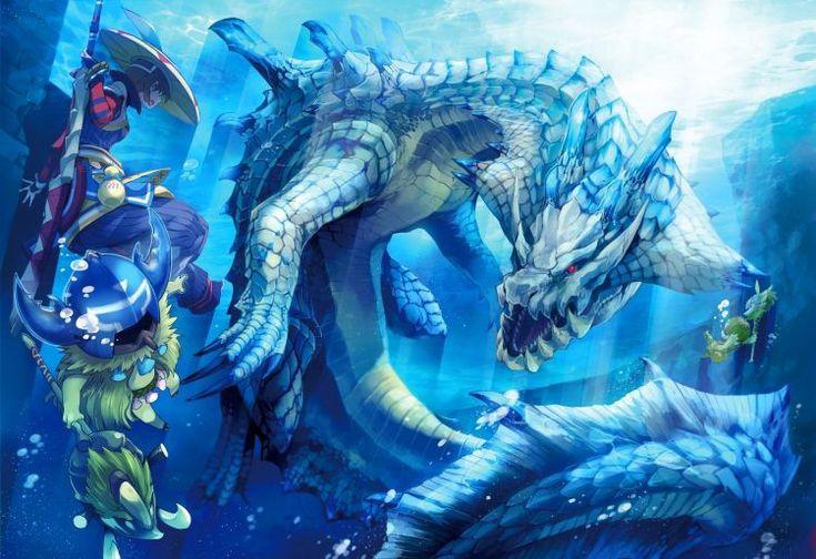 Fonds d'écran Jeux Vidéo > Fonds d'écran Monster Hunter saga Wallpaper N°334596 par lwolf97 - Hebus.com