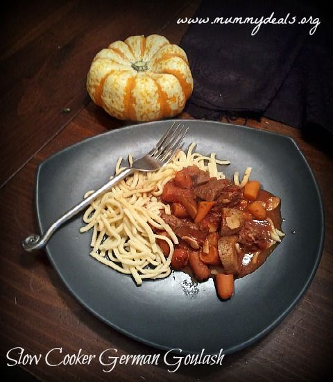 Slow cooker german goulash