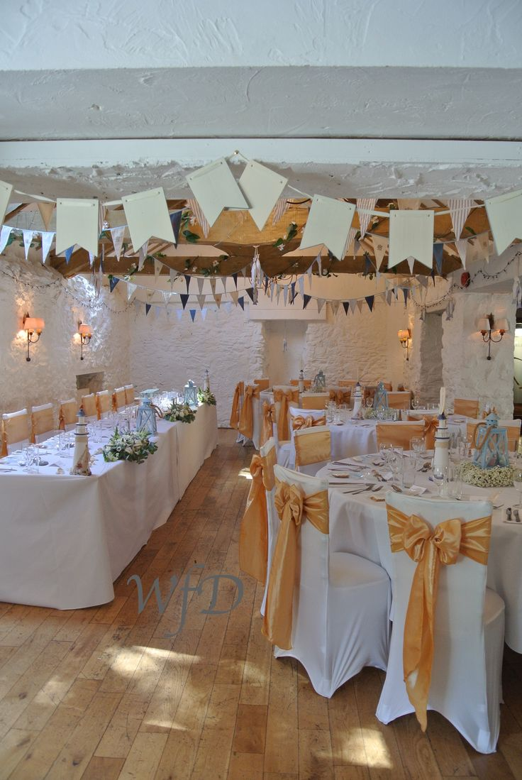 budget wedding venues north yorkshire%0A Sea   nautical inspired wedding at the Bickley Mill Inn Stoneycombe Devon
