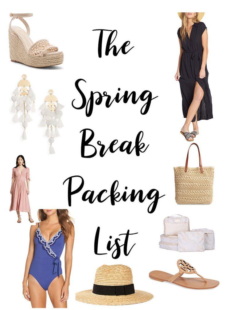 The Spring Break Packing List – Best of Resort Wear