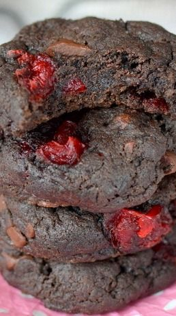 ... Cherry Chunk Cookies | Recipe | Cherries, Cookies and Chocolate cherry