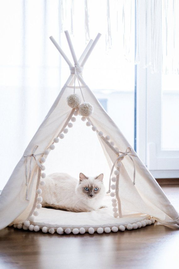 Original Design Cat Bed or Dog Bed: Cat Teepee, Dog Teepee