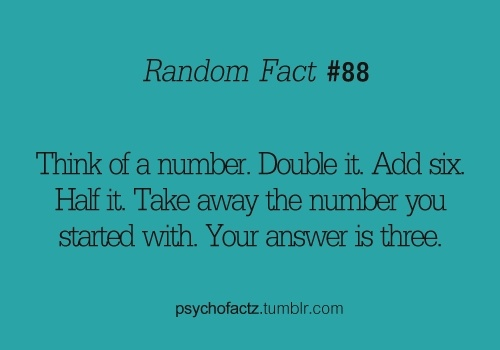 Fun math tricks. | Math/Science | Pinterest | Awesome ...