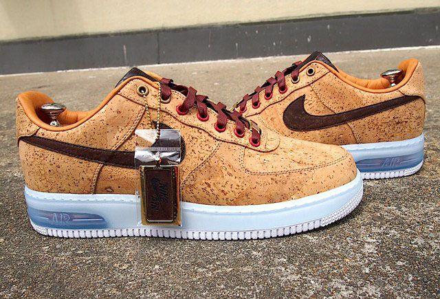 "Nike Air Force 1 Bespoke ""Cork"" by Slovadon"