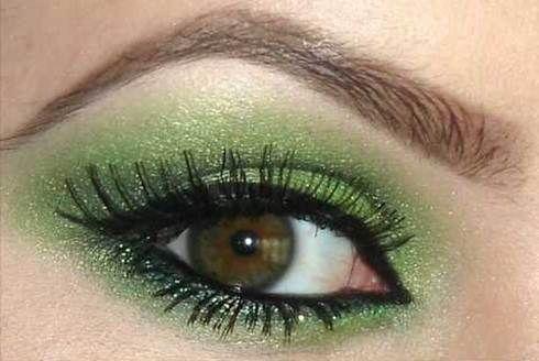 Make up occhi verde