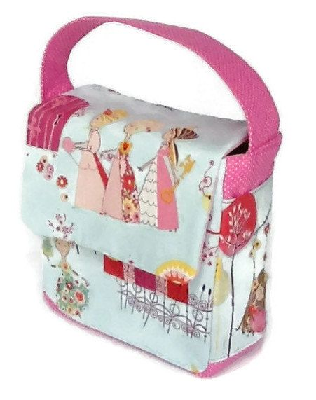 Girls Lunch Bag, Alexander Hendry Fabric Lunch Bag