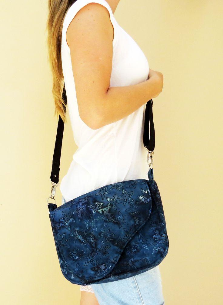 Bolsa De Tecido Pinterest : Bolsa carteiro tecido importado
