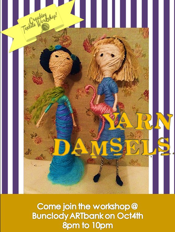 Yarn Doll Workshop at ArtBank Bunclody