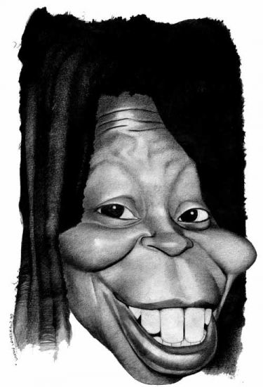 Whoopi Goldberg by caricature-online