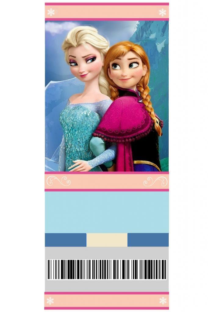 free printable frozen invitation elsa and anna