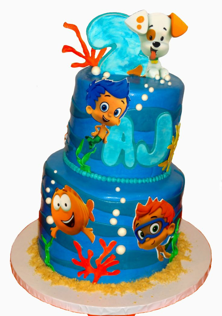 Guppies Bubble Cake