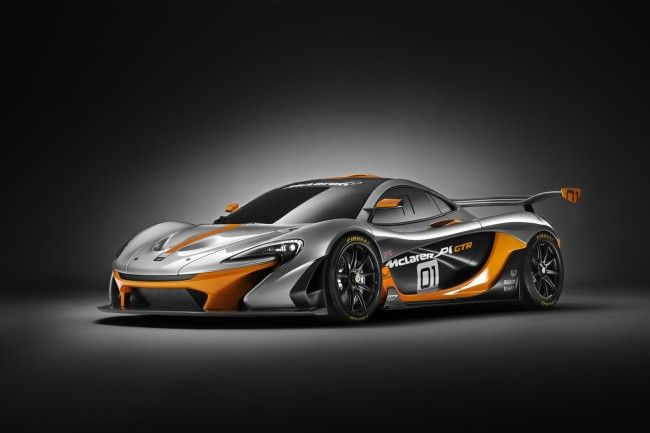 McLaren P1 GTR Design Concept Wallpaper