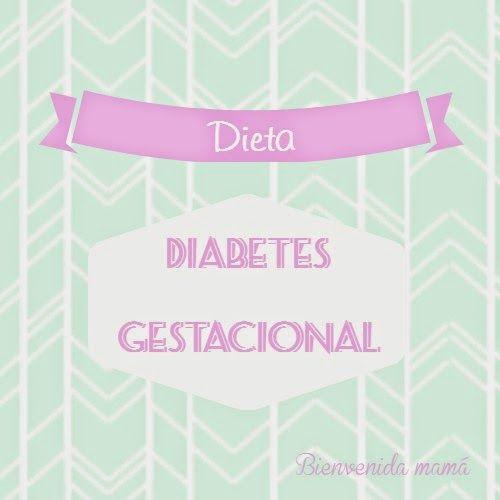 Diabetes gestacional. Dieta