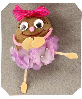 Potato people how- to! I am making these for saint patrick day for sure!