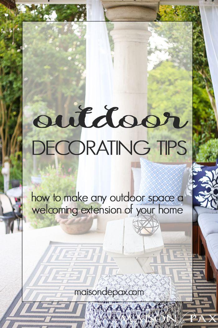 Backyard Tour and Outdoor Decorating Tips 221