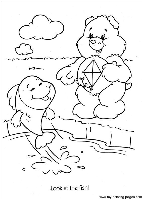 best care bear coloring pages - photo#2
